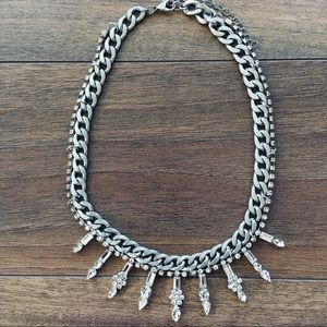Rhinestone necklace from URBAN OUTFITTERS